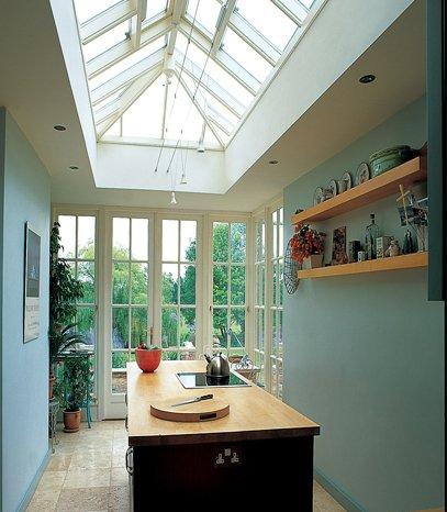 Lanterniner och takfönster