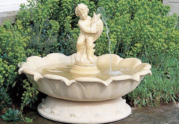 Självcirkulerande fontäner
