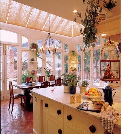 Köket som uterum