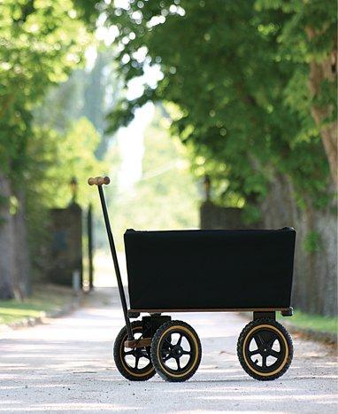 Wagon-med-canvaskorg