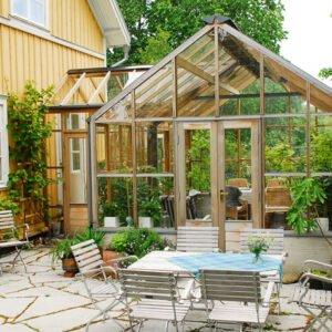 Anslutet Planthouse i Småland