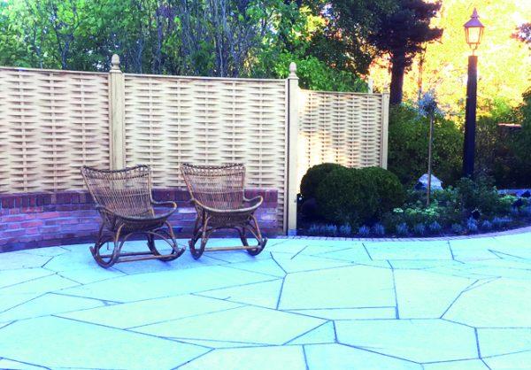 Orangeri med trädgårdsdröm