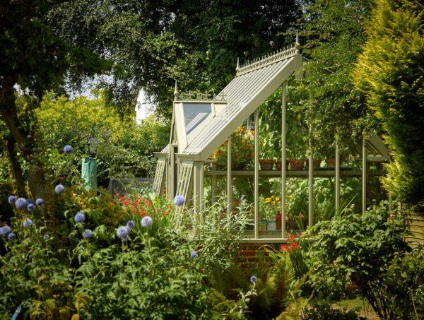 Exklusivt växthus från Vansta Trädgård
