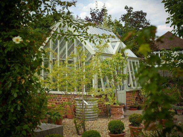Victorian Greenhouse Botanic terrace