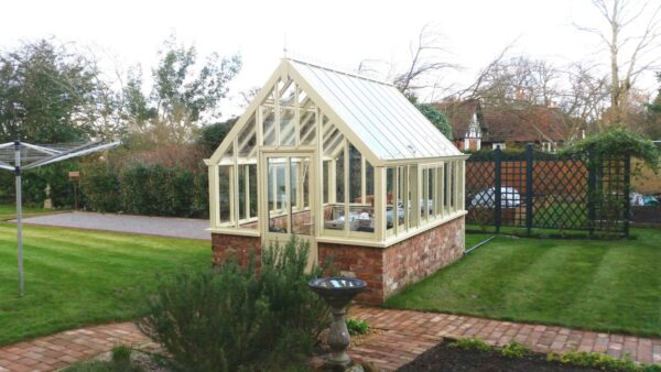 Engelskt växthus Botanic greenhouse