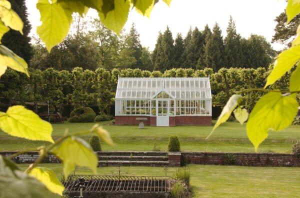 English victorian greenhouse The Botanic Manor från Vansta Trädgård