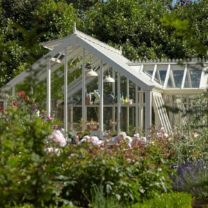 Perfect victorian greenhouse