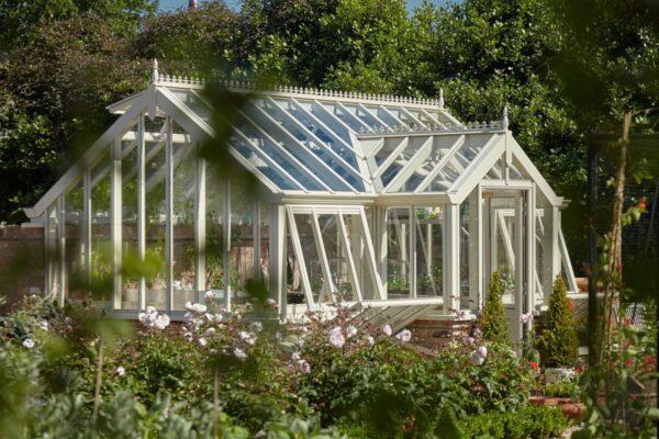 Engelskt växthus i premiumklass från Vansta