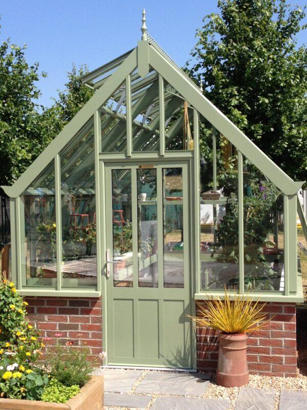 Botanic greenhouse i härligt grön - drömväxthuset från Vansta