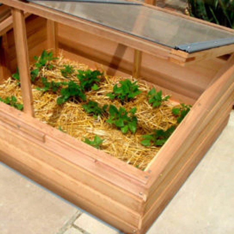 Odlingsskåp, miniväxthus & kallbänkar