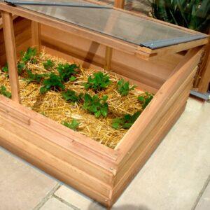 Växthustillbehör i cederträ