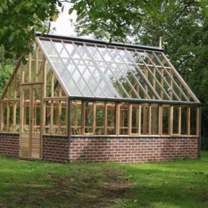Viktorianska växthus i cederträ