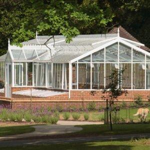 Engelska växthus i aluminium